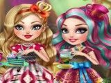 Ever After High chá da tarde decorar