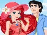 Maquiagem e roupas para Ariel