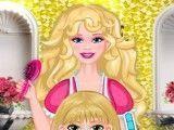 Barbie profissão cabeleireira
