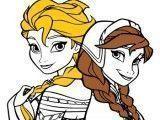 Irmãs Elsa e Anna pintar