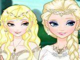 Vestir duende Elsa