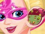 Médico do ouvido da Super Barbie