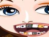 Garotinha no dentista