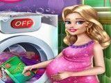 Lavanderia da grávida