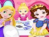 Princesas limpar quarto