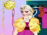 Elsa roupas Ano Novo