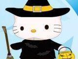 Hello Kitty decorar quarto do halloween