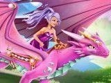 Dragão e princesa cuidar