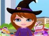 Barbie bebê moda Halloween