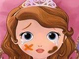 Cuidar da Princesa Sofia bebê