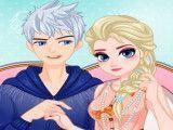 Arrumar Elsa e Jack para jantar