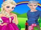 Jack e Elsa piquenique romântico