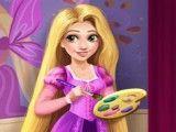 Rapunzel pintar quarto