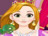 Maquiagem e moda Rapunzel