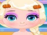 Bebê Elsa Ação de Graças