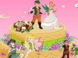Fazer bolo de casamento da Sininho