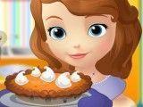 Princesa Sofia receita de torta salgada