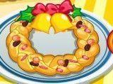 Fazer rosquinhas de pão para Natal