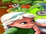 Achar objetos no jardim da Elsa e Anna