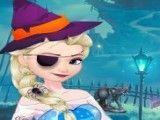 Objetos de halloween da Elsa e Anna