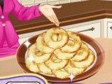 Roquinhas de maçã da Sara