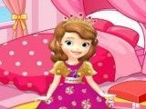 Princesa Sofia decoração do quarto novo