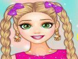 Vestir princesa Rapunzel