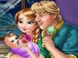 Cuidar do bebê da Anna e Kristoff