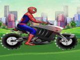 Homem Aranha moto aventura