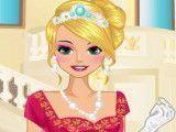 Maquiar Rapunzel e vestir
