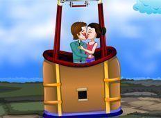 Beijo no balão