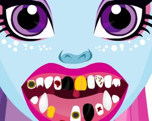 Abbey Monster High  no dentista