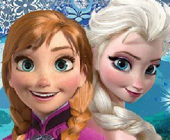 Achar erros do filme Frozen