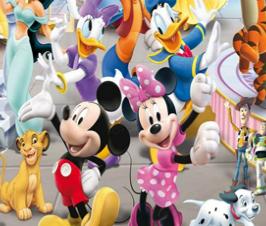 Achar números ocultos cenário da Disney