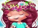 Moranguinho roupas de flores