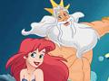 Ajudar a sereia Ariel a sobreviver no mar