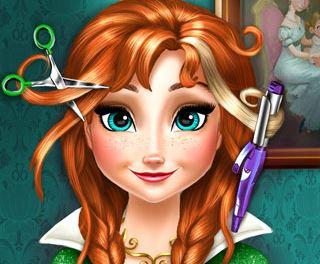 Anna Frozen cabeleireiro