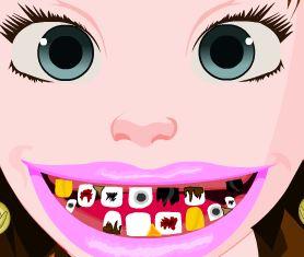 Anna Frozen cuidar dos dentes