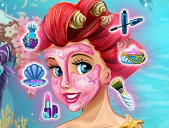 Ariel no spa tratamento facial