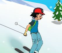 Aventuras do Pokemon no ski