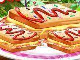 Preparar sanduíche do lanche