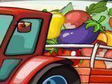 Dirigir caminhão das verduras