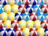 Atirar bolinhas coloridas