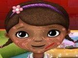 Doutora Brinquedos cuidar da face