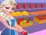 Elsa fazer receita de pizza
