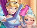 Banho da Cinderela bebê
