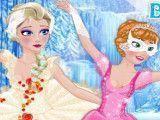 Vestir bailarinas Anna e Elsa