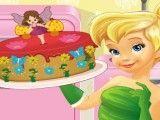 Fazer bolo da fada Sininho