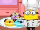 Minion fazer receita de macarrons