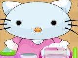 Hello Kitty fazer sorvete
